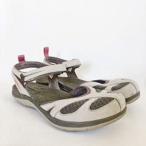 Merrell Women's Siren Wrap Sandal in Aluminum sz 9